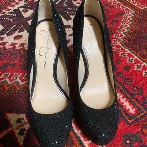 Jessica Simpson Shoes - Jessica Simpson sparkle, high heeled fancy pumps